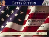 Betty Sutton Power Point