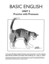 practice with pronouns