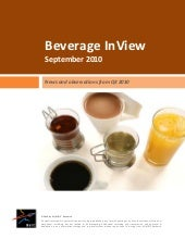 Beverage InView (September 2010)