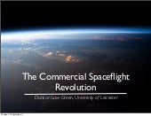 The Commercial Spaceflight Revolution