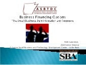 Business Financing Options for Vete...