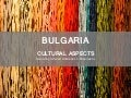 Bulgarian Culture according to Hofstede's 5 dimensions