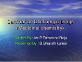 Cholinergic drugs ppt