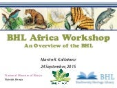 BHL Africa Workshop: An Overview of the BHL