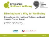 Birmingham Health & Wellbeing Board...
