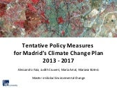 Climate change adaptation and mitig...