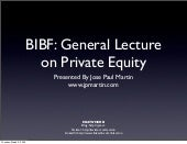 BIBF Presentation (With Video)