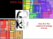 "Bible Alive Jesus Christ 010: ""The ..."