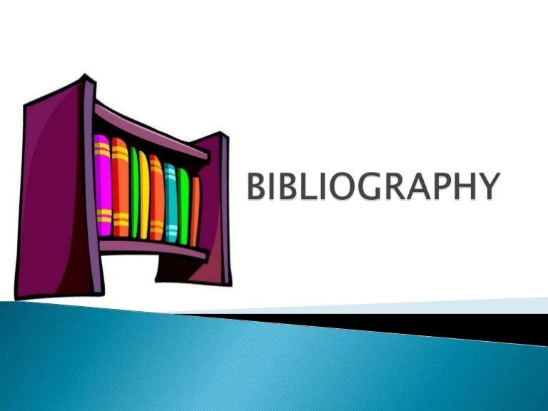 Biblio graphy