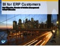 Business Intelligence for ERP Customers - Covers SAP ERP, Oracle E-Business Suite, Peoplesoft, and JD Edwards