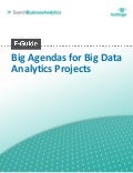 Big agendas for big data analytics projects