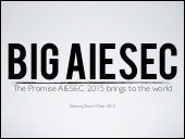 Big AIESEC steering team