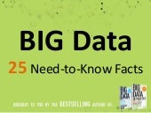 Big Data - 25 Amazing Facts Everyone Should Know
