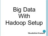 Big data with hadoop Setup on Ubuntu 12.04