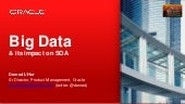 Big data and its impact on SOA