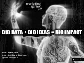 Big Data + Big Ideas = Big Impact