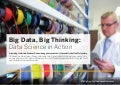 Big Data, Big Thinking: Data Science in Action