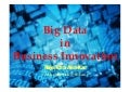 Big data in Business Innovation