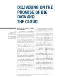 Delivering on the Promise of Big Data and the Cloud