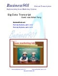 Big Data Transcript with Kaiser Fung