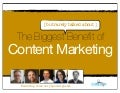 The Biggest Benefit of Content Marketing