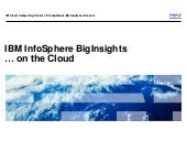 IBM Big Data in the Cloud