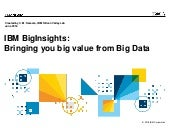 Big Data: Introducing InfoSphere Bi...