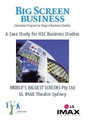 Big screen business 2007