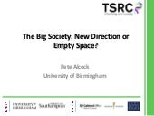 Big society seminar   prof. pete al...