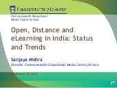 Open, Distance and eLearning in Ind...