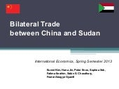 Bilateral trade between china and s...