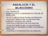 Bilinguismo Marco Legal