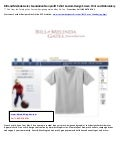 Bill and Melinda Gates Foundation Non profit t shirt Custom Design Screen Print Embroidery