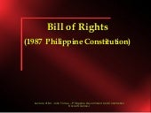 Bill of rights (lecture)