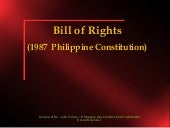 Bill of rights (lecture 3)