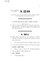 S. 2248 - Fracturing Regulations ar...