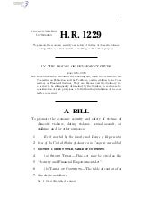 H.R. 1229 To promote economic secur...