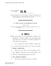 FY-2013 House Continuing Resolution