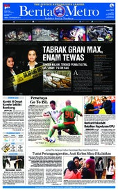 Berita Metro 09 September 2013