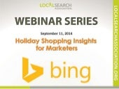 Holiday Shopping Insights for Marketers