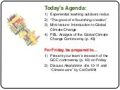 Biology 123 Global Climate Change C...