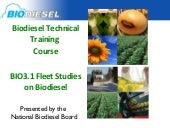 BIO3.1 Biodiesel Fleet and Case Stu...