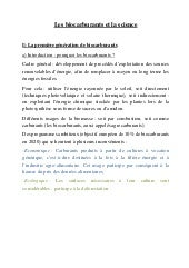 Biocarburants et science