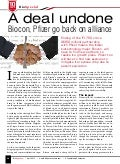 Biocon Pfizer Deal  - Kapil Khandelwal - Bio Spectrum April 2012