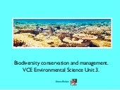 VCE Environmental Science Unit 3: B...