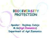 Biodiversity protection