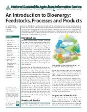An Introduction to Bioenergy: Feeds...