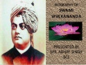 Biography on swami vivekanand