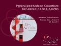 Presentation Personalized Medicine Consortium by EuroBioForum