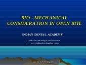 Biomechanics of openbite 2